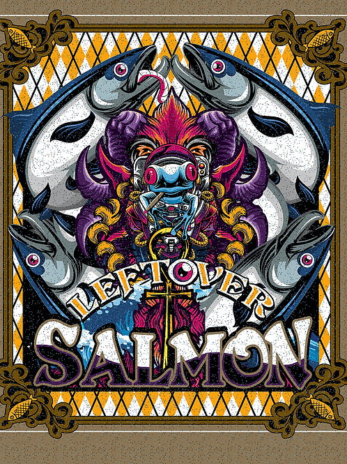 Leftover Salmon - Signed Print - Limited Edition of 50