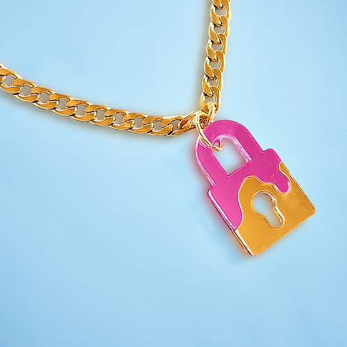 Azucar Lock Necklace