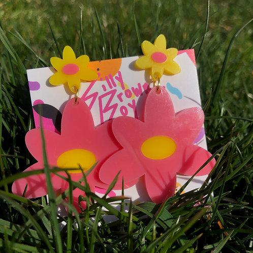 Pink/Yellow Dizzy Daisy