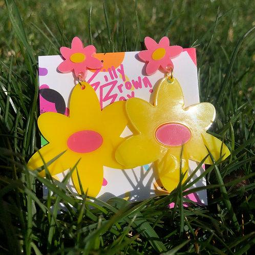 Yellow/Pink Dizzy Daisy
