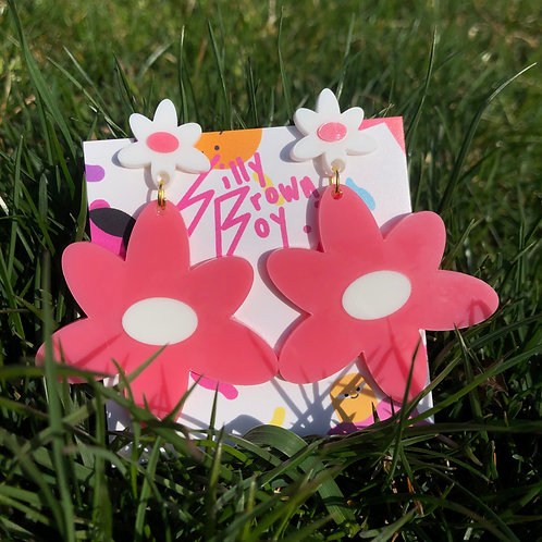Pink/White Dizzy Daisy