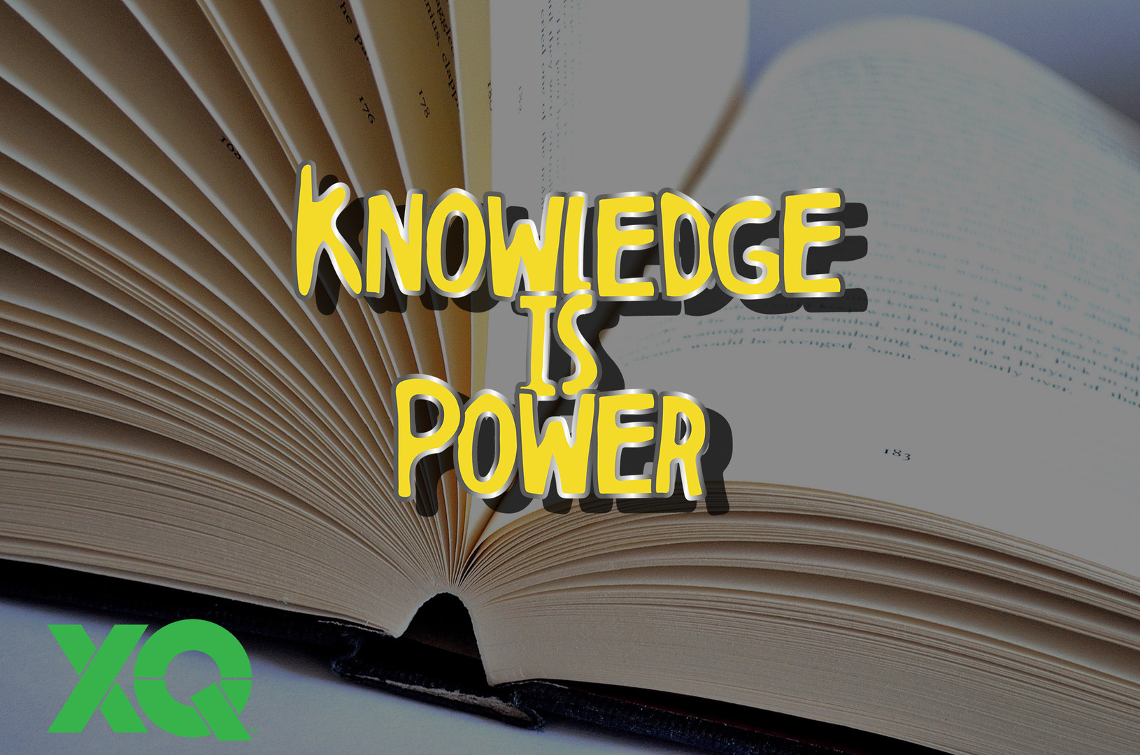 Knowledge Is Power Pin Editorial