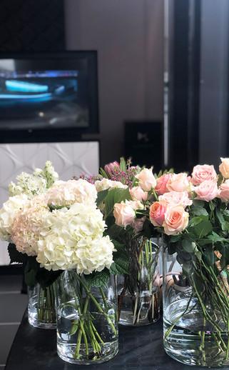 Ateliers et decoration florale pour DS automobile