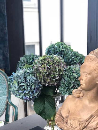 Scénographie florale pour Le Club Business O Feminin