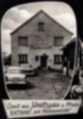 Gasthaus Mainaussicht Ansicht Knetzgau Speiselokal Catering Partyservice