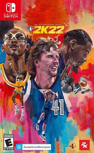 NBA 2K22 75th Anniversary for Nintendo Switch