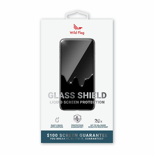 Wild Flag Glass Shield Liquid Screen Protection ($100 Insurance)