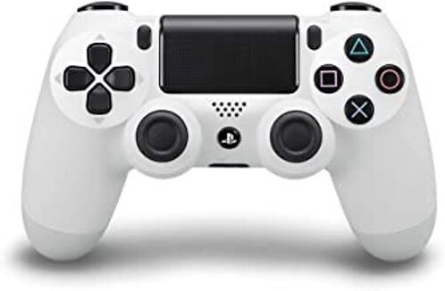 Dualshock 4 Wireless PS4 Controller: Glacier White for Sony Playstation 4
