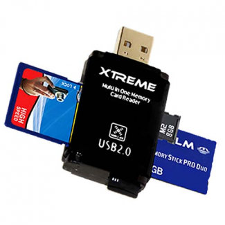 Xtreme Tech Multifunctional USB 2.0 Card Reader/Writer
