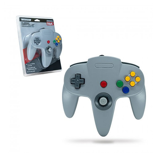 Wired Controller for N64 - Grey