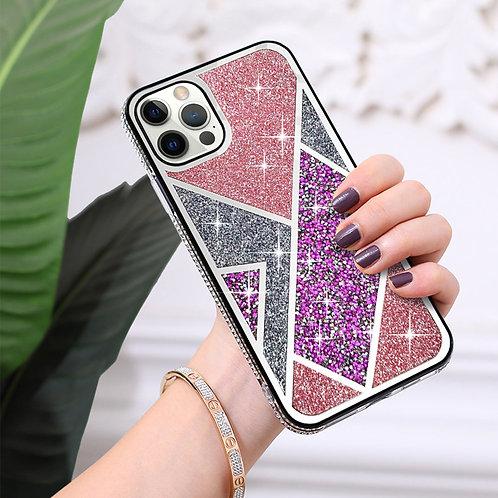Apple iPhone 12 / iPhone 12 Pro (6.1 inch) Luxury Bling Glitter Diamond Shiny Pr