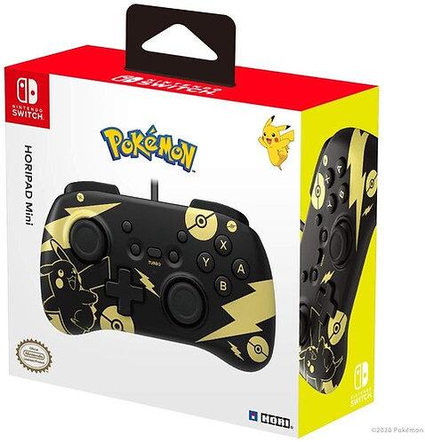 Nintendo Switch HORIPAD Mini (Black & Gold Pikachu Edition) by HORI
