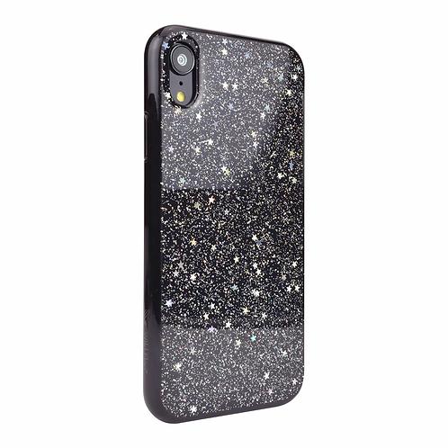 Wild Flag Design Case For iPhone X/XS - Black/Iridescent