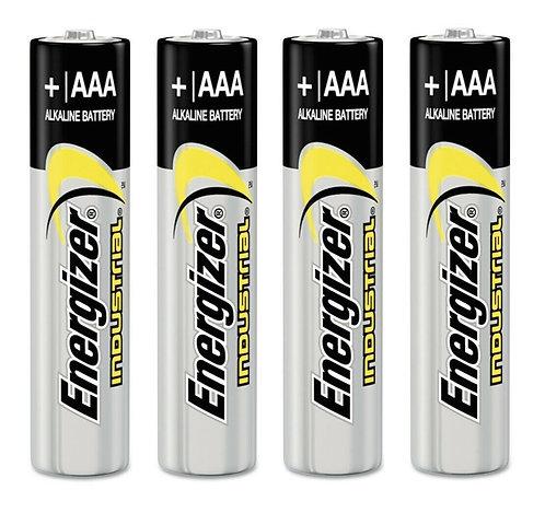 Energizer AAA Batteries Industrial 1.5V LR03 Micro EN92 (4pk)