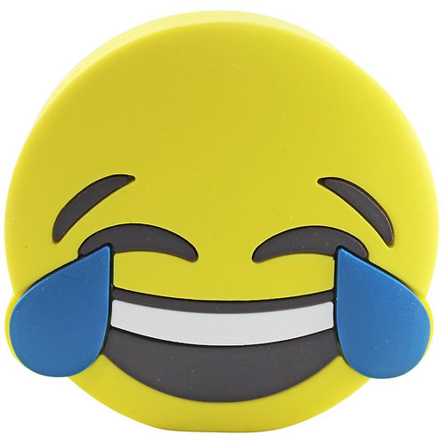 Laughing Emoji 4000mAh Powerbank with Charging Cable