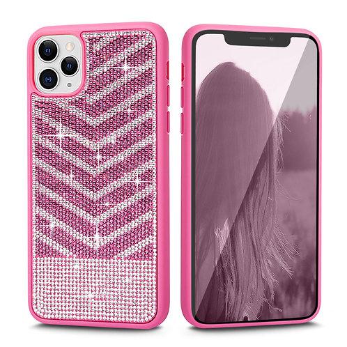 Apple iPhone 11 Pro Luxury Diamond Glitter PC + Soft TPU Shockproof Bumper Case