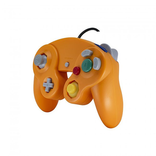 Game Cube Controller - Wired - Orange (For Gamecube/Wii U/Wii)