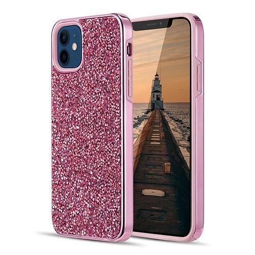 Apple iPhone 12 Mini (5.4 inch) Hybrid Shiny Diamond Protective Case
