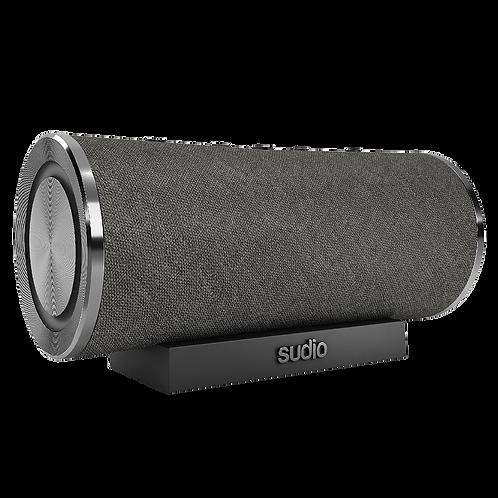 Sudio - Femtio Waterproof Bluetooth Speaker - Black