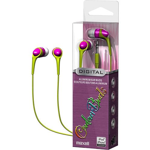 Maxell Pink Couleur Series Ear Buds
