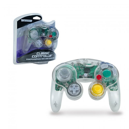 Game Cube Controller - Wired - Clear (For Gamecube/Wii U/Wii)