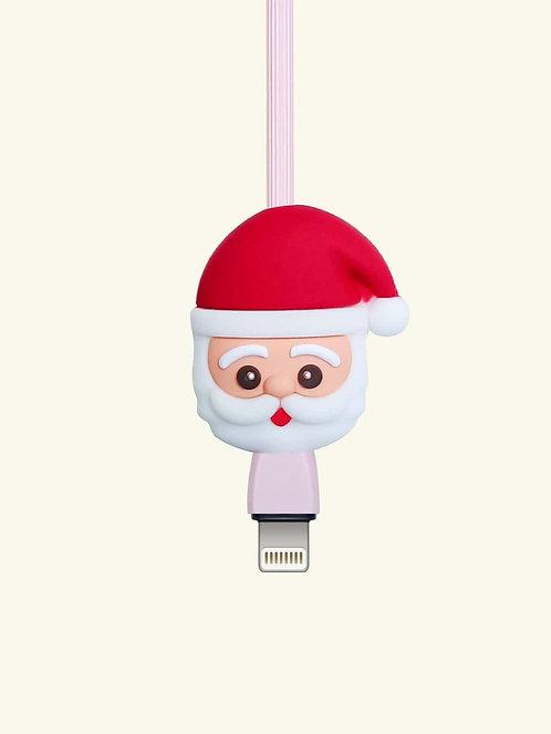 Christmas Santa Shaped Cable Protector