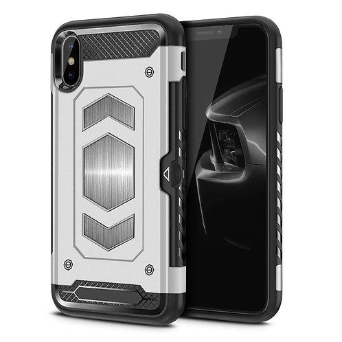 Apple iPhone XS Max Hybrid Armor Card Holder Shockproof Case