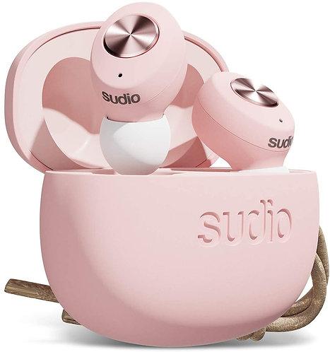Sudio - Tolv True Wireless In Ear Bluetooth Headphones - Pink