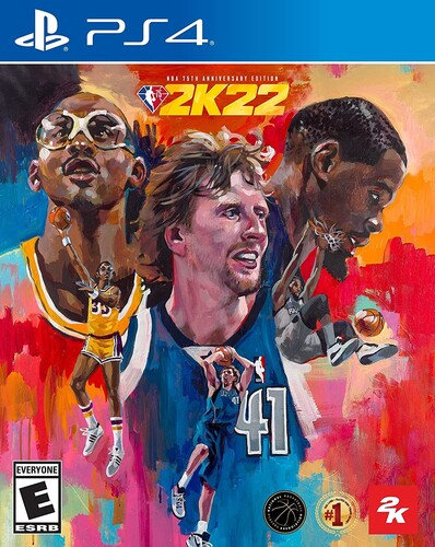 NBA 2K22 75th Anniversary for PlayStation 4