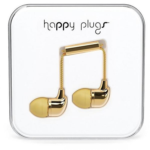 Happy Plugs In-Ear (Gold) Limited Edition