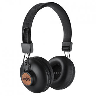 Marley Positive Vibrations 2 Wireless Bluetooth Headphones - Signature Black