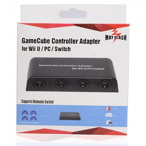 GameCube Controller Adapter for Wii U and PC USB 4 Port