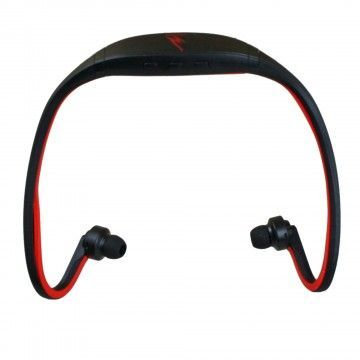 iHip Warrior Black & Red Bluetooth Athletic Wrap Earbuds