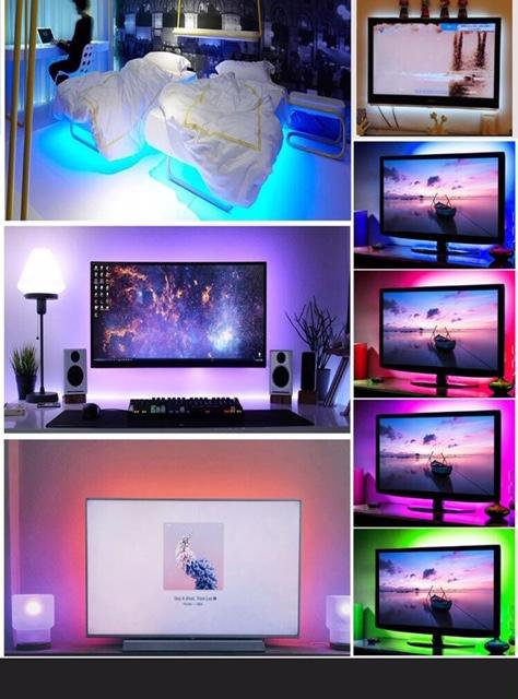 Multi-Color LED Light Strip Kit w/ Remote