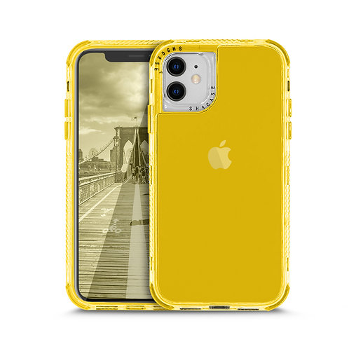Apple iPhone 12 Mini (5.4 inch) Clear Jelly Hybrid Shockproof Case
