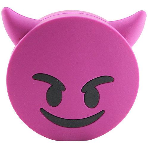 Smiling Devil Emoji 4000mAh Powerbank with Charging Cable