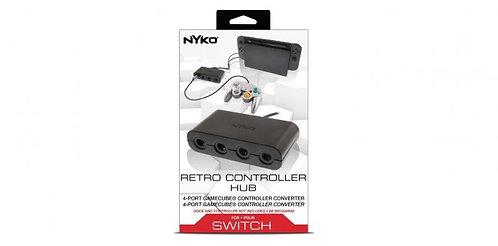 Switch - Gamecube Adapter - Retro Controller Hub - 4 Port (Nyko)