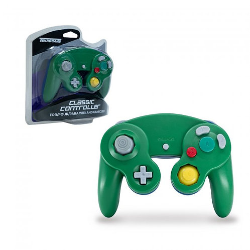 Game Cube Controller - Wired - Green/Blue (For Gamecube/Wii U/Wii)