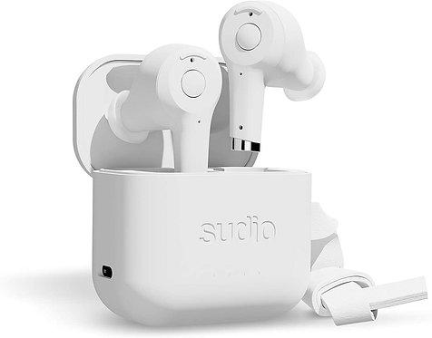 Sudio - Ett True Wireless In Ear Bluetooth Headphones - White