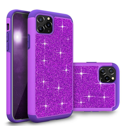 Apple iPhone 11 Pro Glitter Shockproof Bumper Case