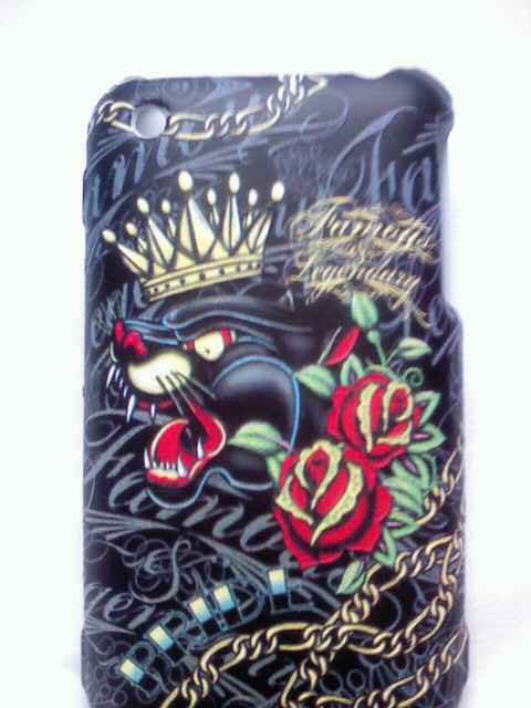 Crowned Black Panther Iphone 3G Snap case