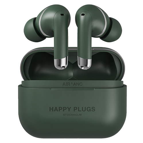 Happy Plugs - Air 1 ANC In Ear Headphones - Green