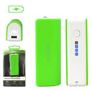 Acellories Power Bank Portable Charger - 2200 mAh