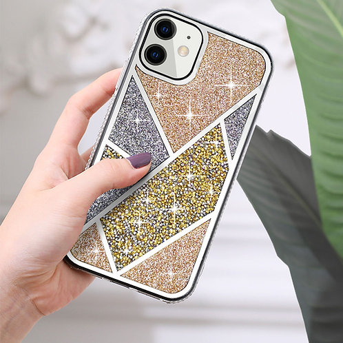 Apple iPhone 12 Mini (5.4 inch) Luxury Bling Glitter Diamond Shiny Protective Ca