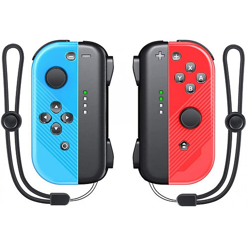 Joy Con Controller Replacement for Nintendo Switch/Switch Lite, L/R Wireless Joy