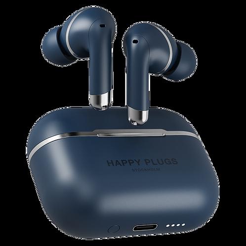 Happy Plugs - Air 1 ANC In Ear Headphones - Blue