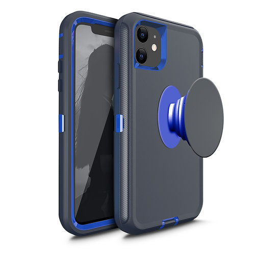 Apple iPhone 11 Hybrid Heavy Duty With Holder Case