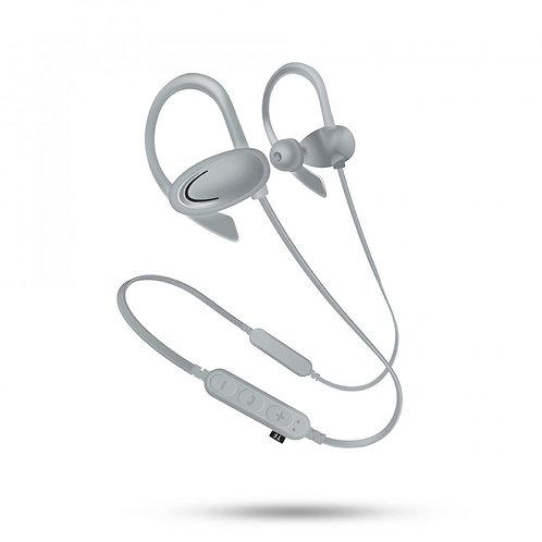 Hook Style Bluetooth Earphone Headset with MicroSD Music Slot MSF1 (Gray)