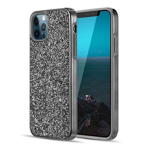 Apple iPhone 12 Pro Max (6.7 inch) Shiny Rockstone Diamond Protective Case