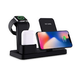 Q12 3 in 1 Wireless Charger and Charging